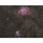 Trifid and Lagoon Nebula at US Store